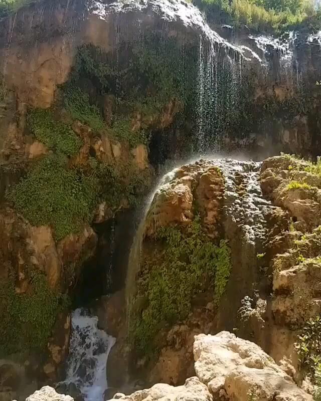 فیلم آبشار آسیاب خرابه جلفا