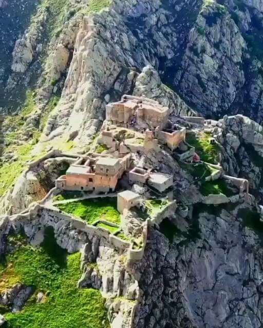 فیلم گردشگری دژ بابک شهر کلیبر آذربایجان شرقی