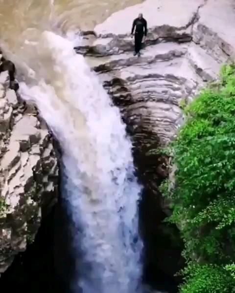 فیلم آبشار ویسادار در گیلان زیبا