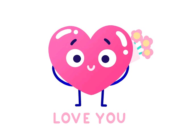 sticker i love you whatsapp