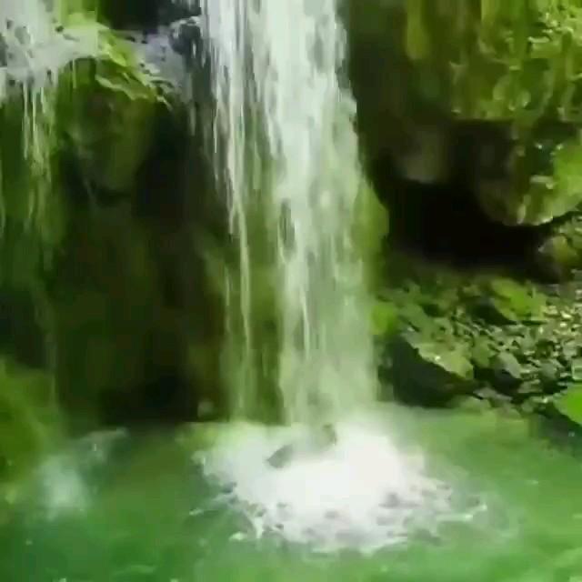 کلیپ زیبایی از آبشار سراستر.تپه آرام.روستای سید کلاته، شهرستان رامیان؛ گلستان