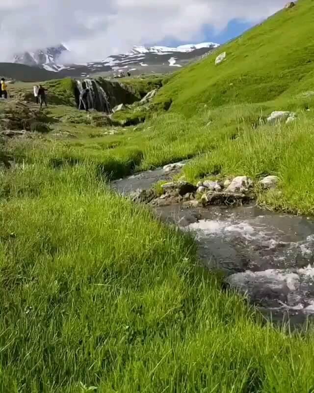 طبیعت زیبای ساوالان مشکین شهر