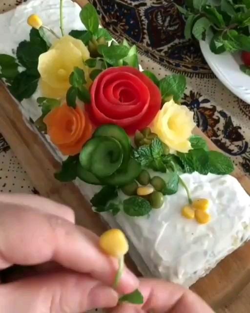 طرز تهیه کیک الویه
