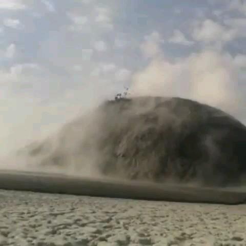 فیلم کوه گل افشان کهیر در چابهار