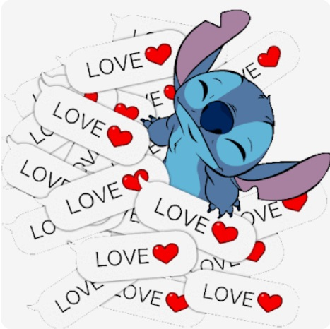 گیف love