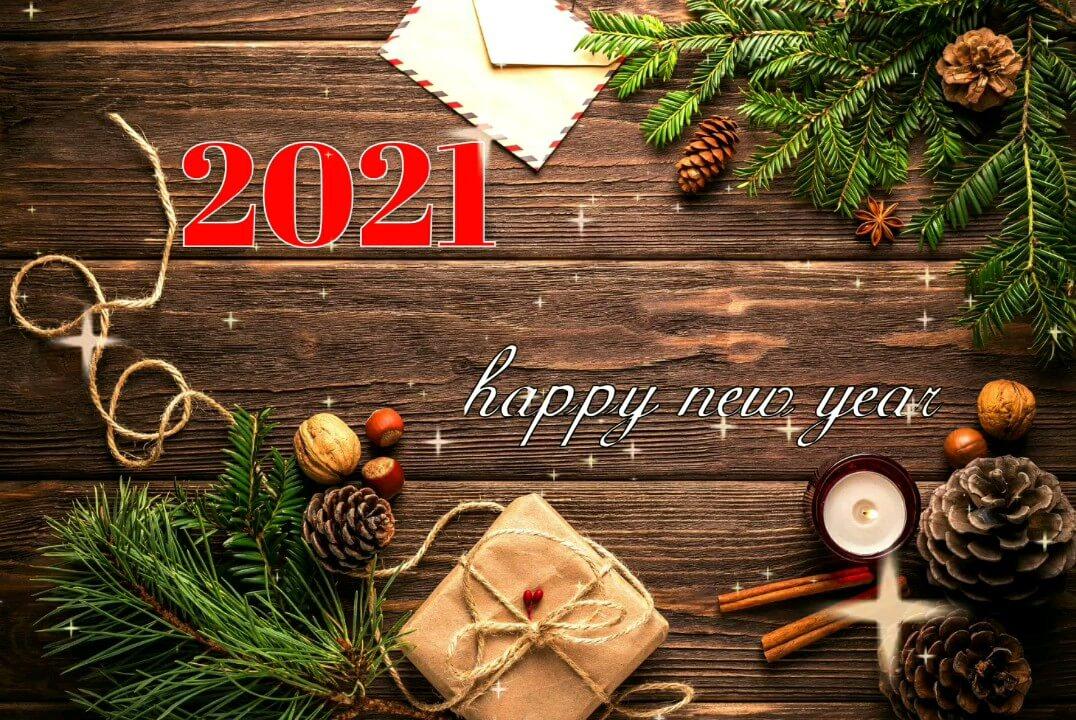 گیف تبریک سال ۲۰۲۱
