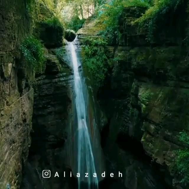 گردشگری مازندران | آبشار سنگ نو بهشهر