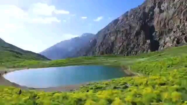 طبیعت بسیار زیبا و دیدنی سی سخت کوه گل کهگیلویه و بویراحمد