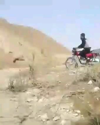 قهرمان موتورسواری ایران :)) | فیلم کوتاه خنده دار