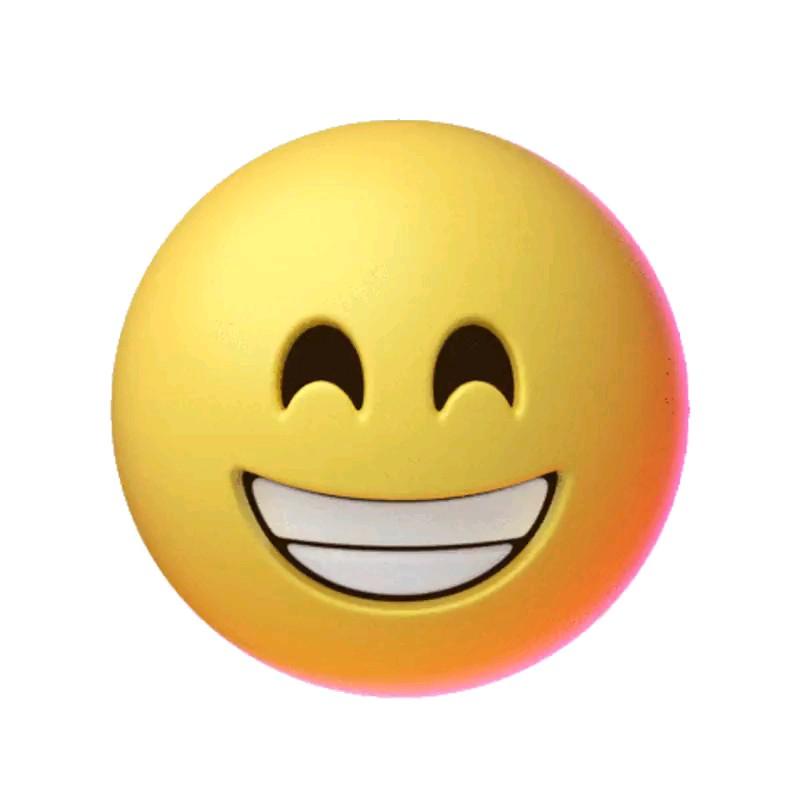 استیکر خنده | ایموجی خنده | شکلک خنده