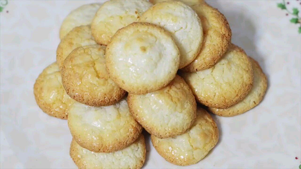 فیلم طرز تهیه شیرینی نارگیلی به سبک قنادی مخصوص عید نوروز | ویدیو آشپزی