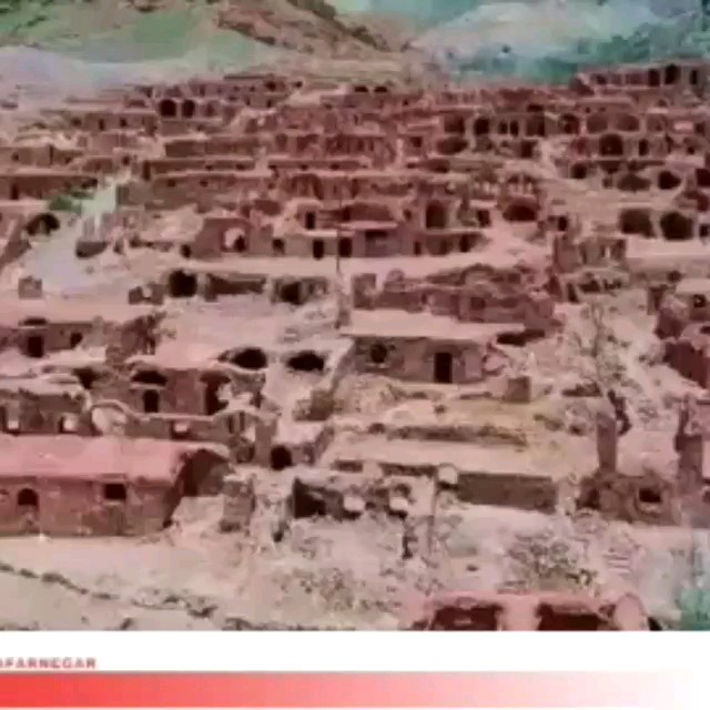 روستای گیسک زرند بزرگترین روستای خالی از سکنه ایران