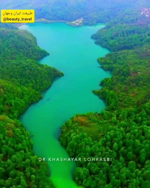 دریاچه میجران رامسر در مازندران