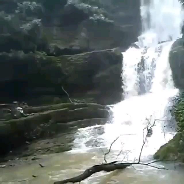 آبشار اوتره بهشت پنهان استان گلستان