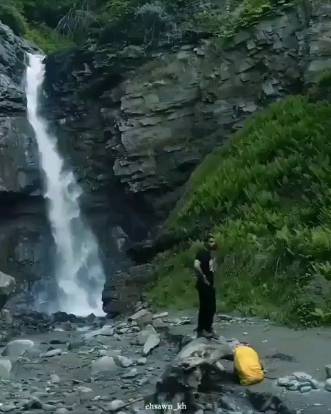 آبشار جلسنگ و چلاک در لفور سواد کوه