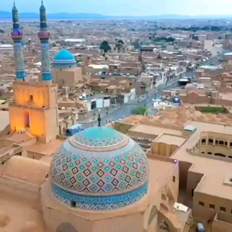 دانلود ویدیو گردشگری | مسجد جامع یزد