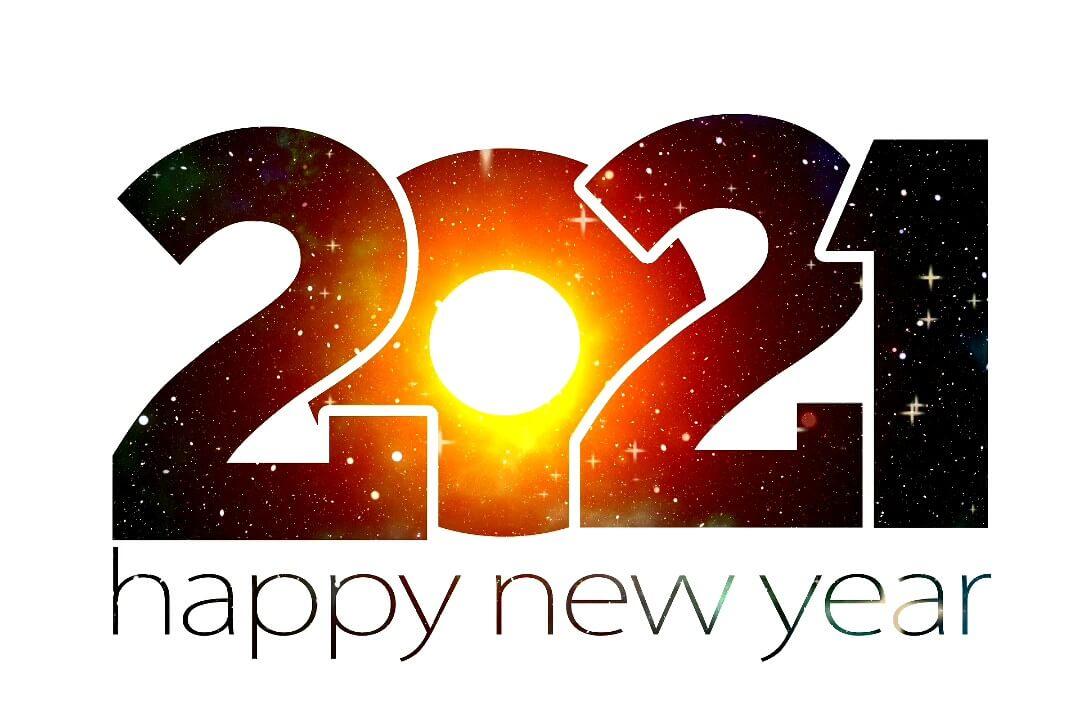 کارت پستال دیجیتال سال ۲۰۲۱ مبارک