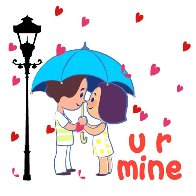 دانلود استیکر زناشویی عاشقانه تلگرام