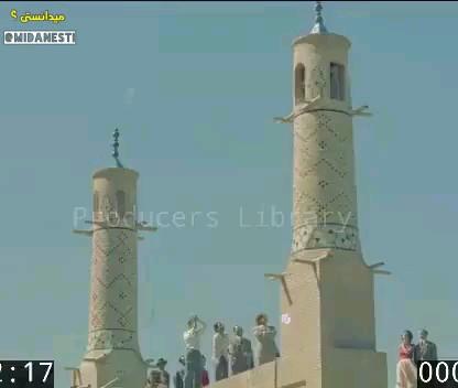 فيلم واضح از جنبيدن منارجنبان اصفهان