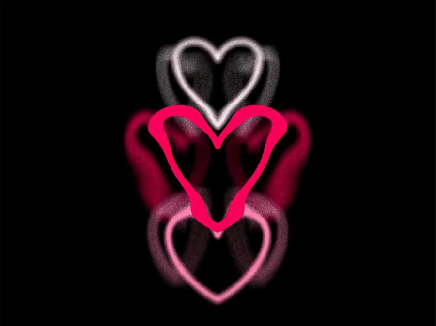 انیمیشن قلب های عاشقانه