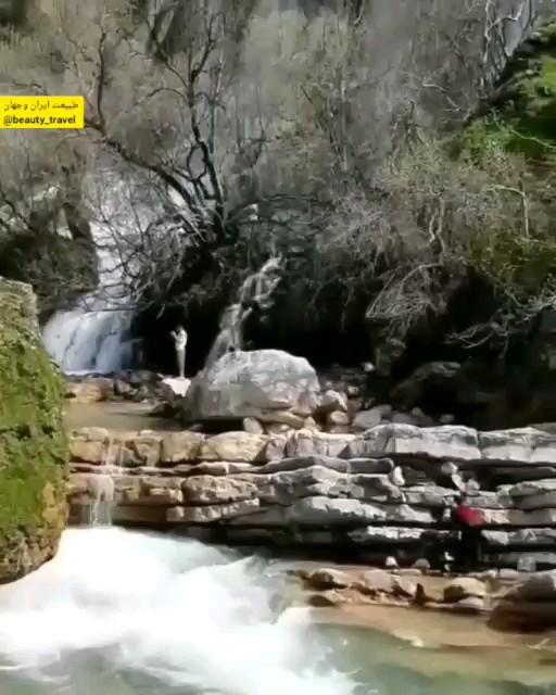 زیباترین و بزرگترین آبشار طبیعی خاورمیانه آبشار شوی