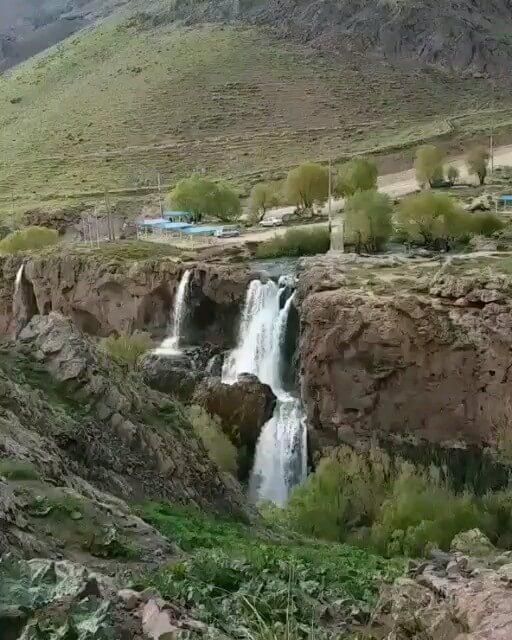 فیلم آبشار شرشر، تکاب آذربایجان غربی