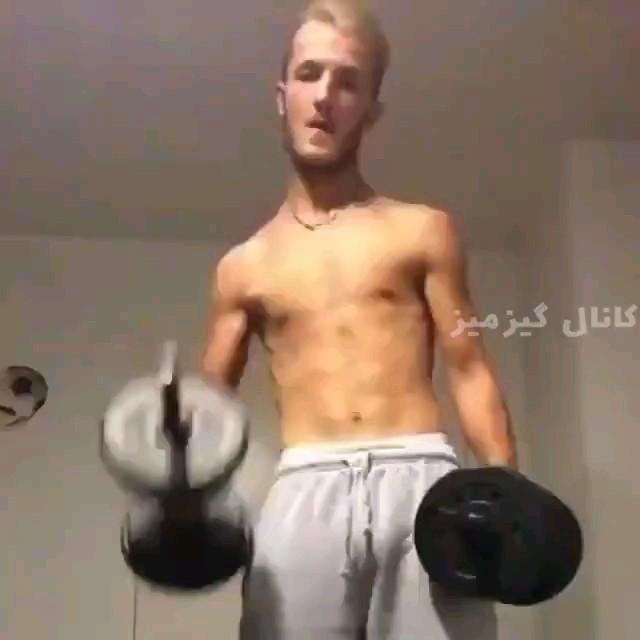 داداش تو ورزش نکن واسه سلامتیت ضرر داره :))