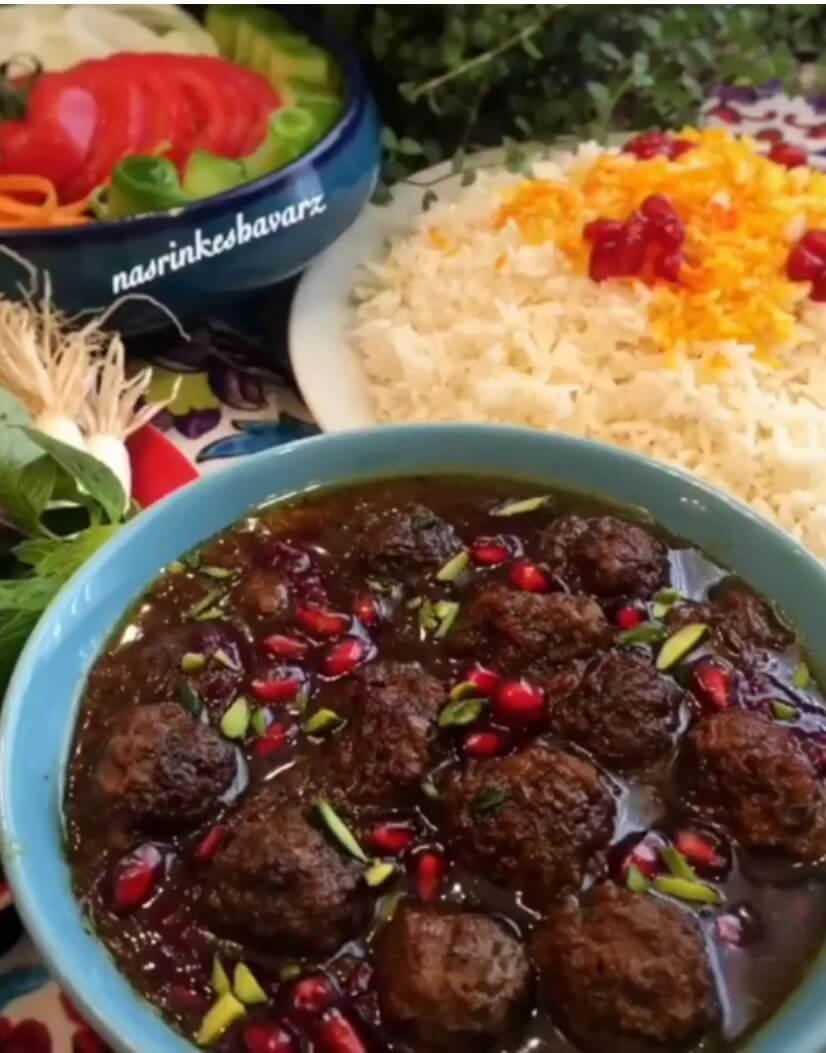 طرز تهیه خورش داود پاشا ترکیه ای اصیل