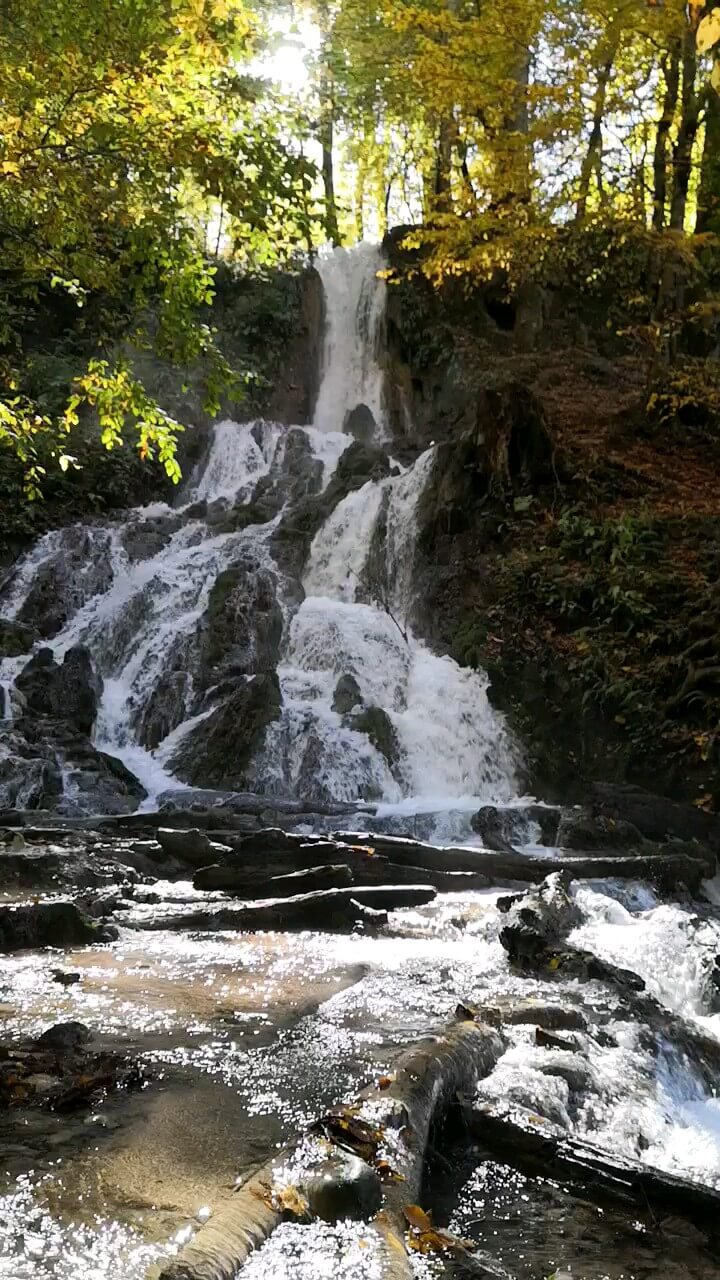 فیلم آبشار اوبن ساری مازندران