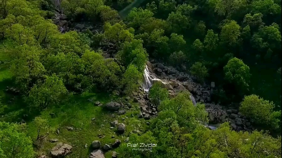 فیلم آبشار نای انگیز بهشت لرستان