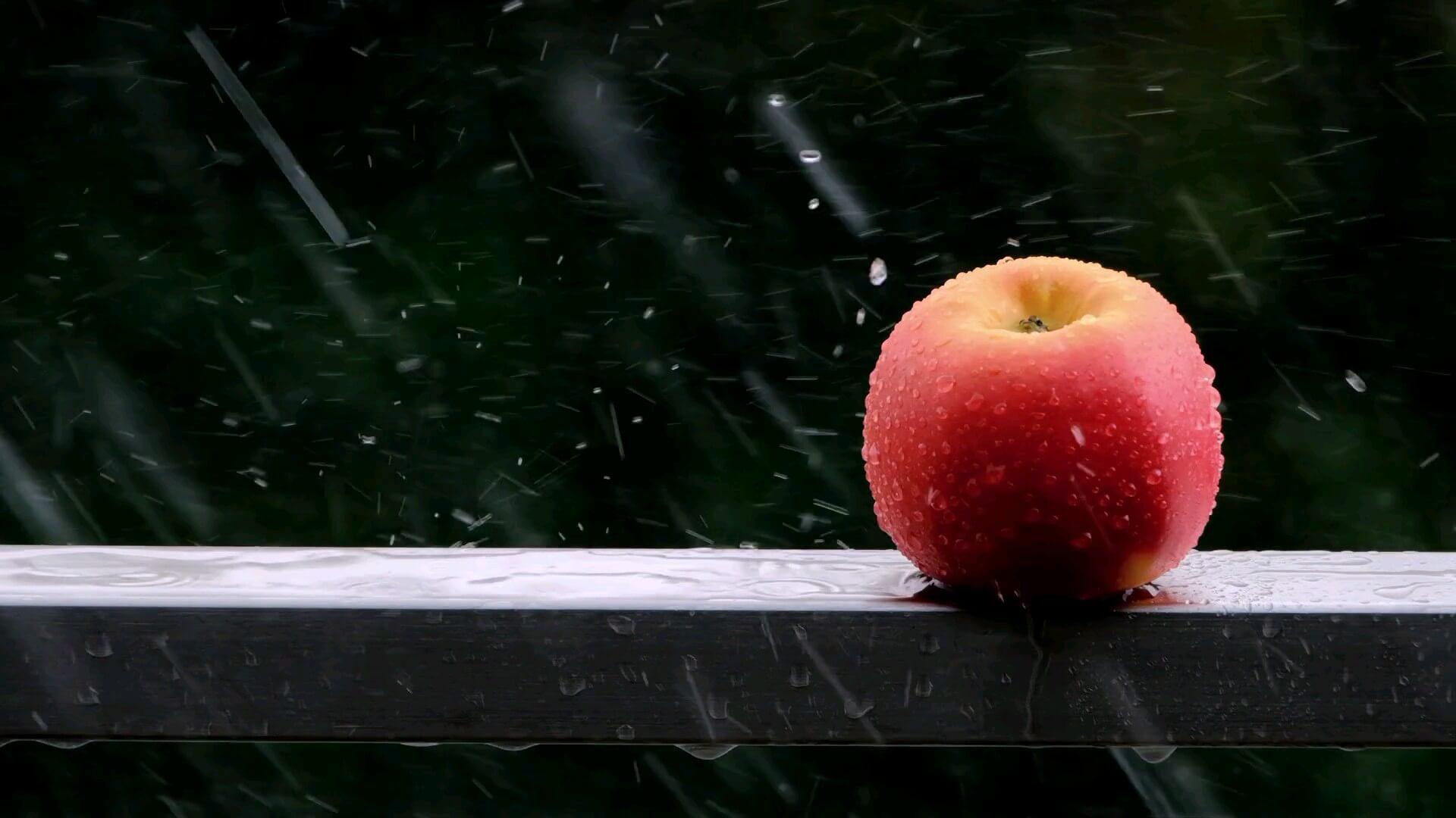گیف باران زیبا