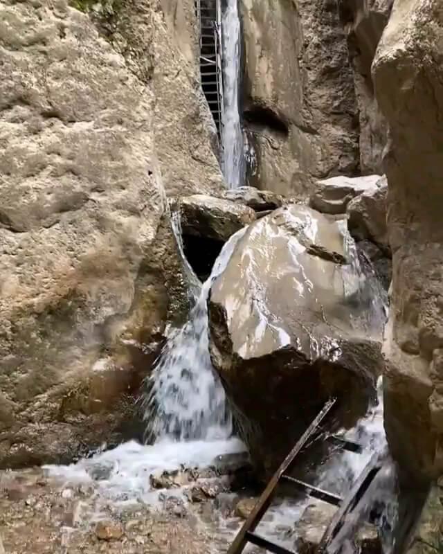 فیلم آبشار قره سو خراسان رضوی