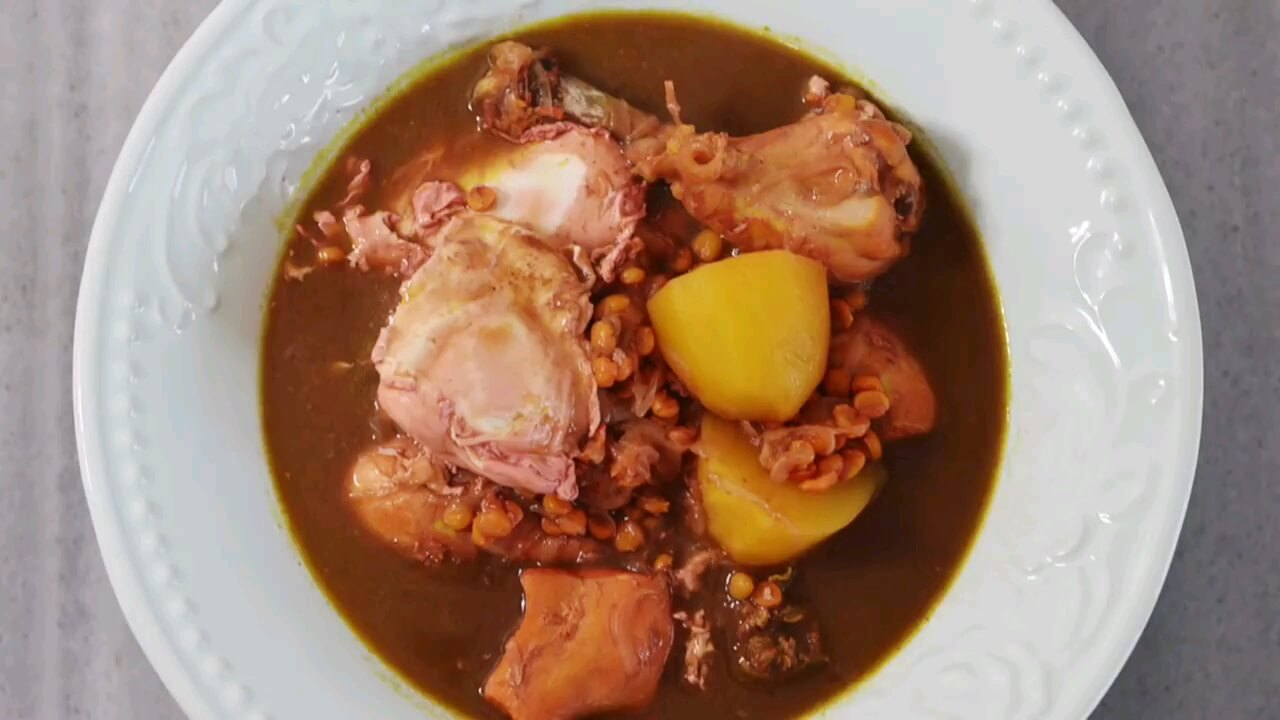 طرز تهیه آبگوشت مرغ | تره کباب غذای محلی کردستان