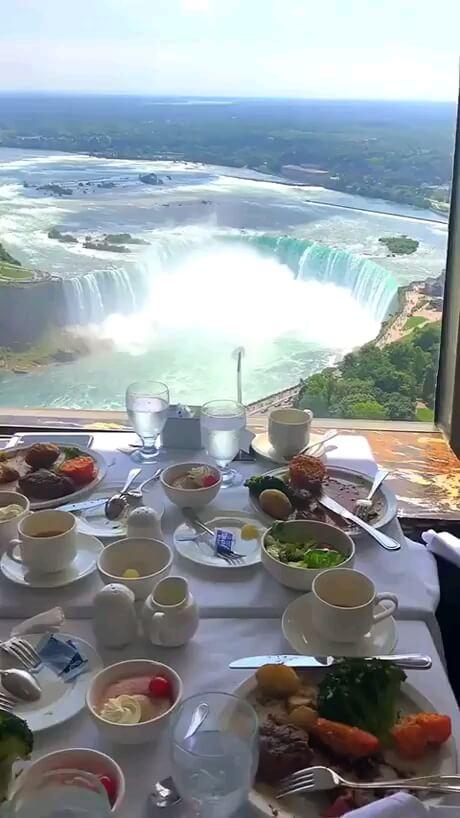 صبح زیباتون بخیر | آبشار نیاگارا