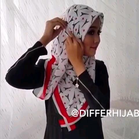 مدل روسری بستن زیر چادر