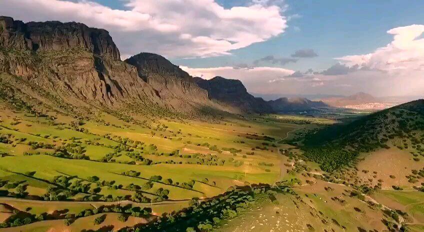 فیلم گردشگری لرستان در یک دقیقه