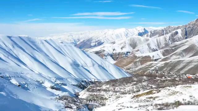 غار یخ مراد در جاده چالوس، روستای گچسر
