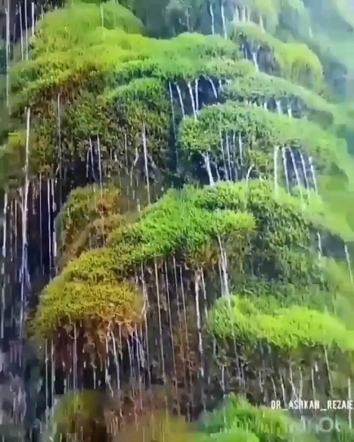 فیلم آبشار پونه زار فریدون شهر