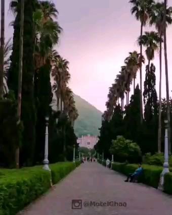 بلوار معلم یا کازینو رامسر یکی از زیباترین جاذبه های گردشگری مازندران