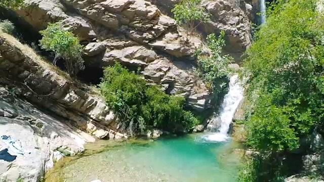 فیلم آبشار بابا روزبهان لالی خوزستان