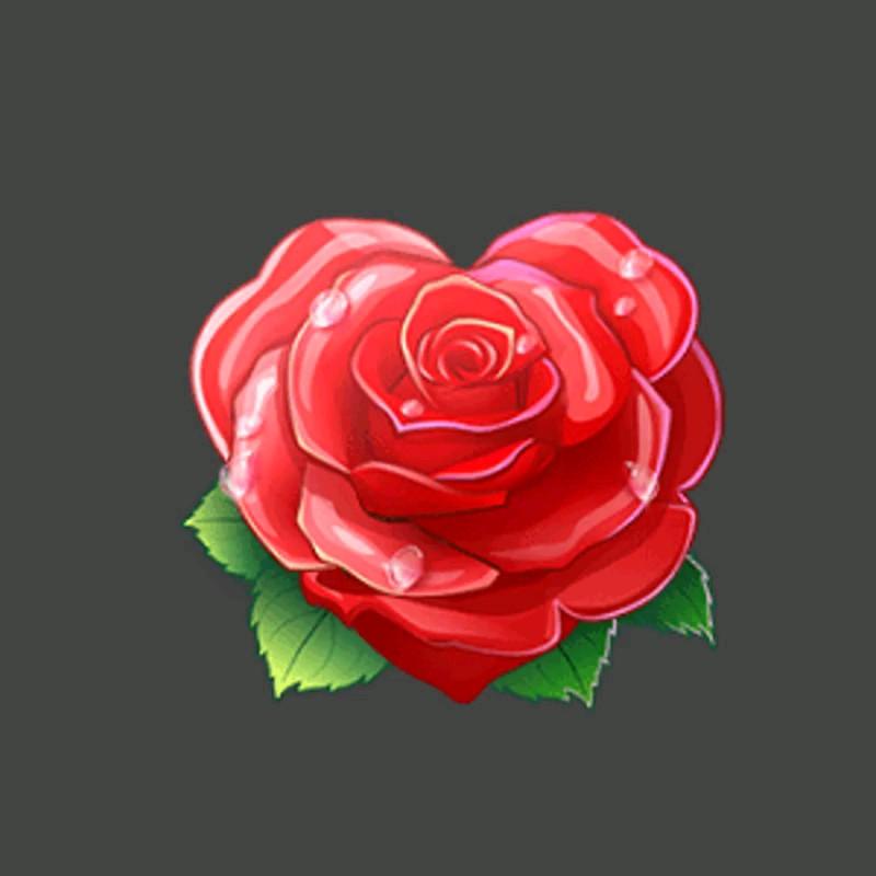 استیکر گل رز قرمز