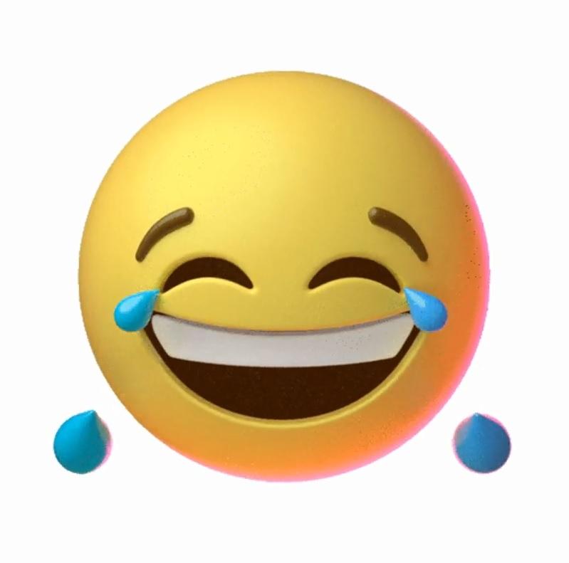 ایموجی خنده | استیکر خنده | شکلک خنده