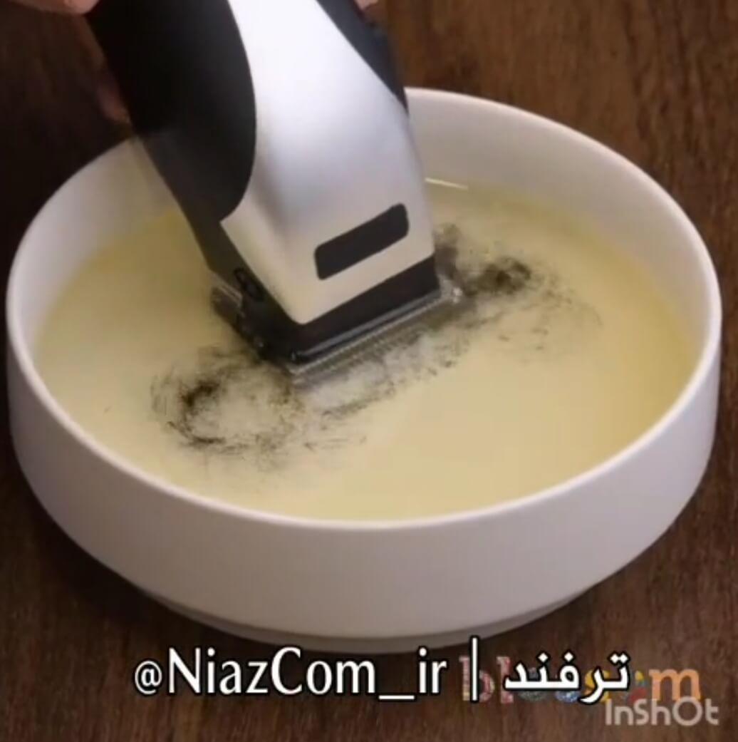 ترفند تمیز کردن ماشین موزر از خرده موهای باقیمانده در چند ثانیه