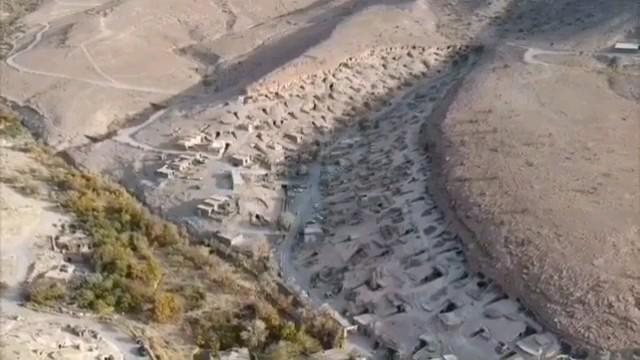 روستای صخره ای مِیمَند شهر بابک