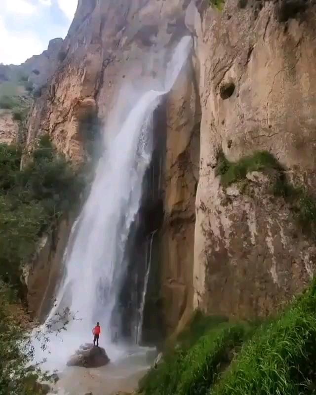 فیلم آبشار شاهاندشت، بلندترین آبشار مازندران