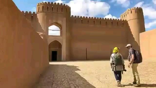 فیلم ارگ تاریخی راین کرمان