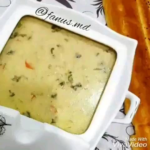 فیلم طرز تهیه سوپ شیر و قارچ