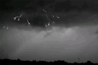 تصاویر متحرک رعد و برق - ۷۰۰۰ فریم بر ثانیه