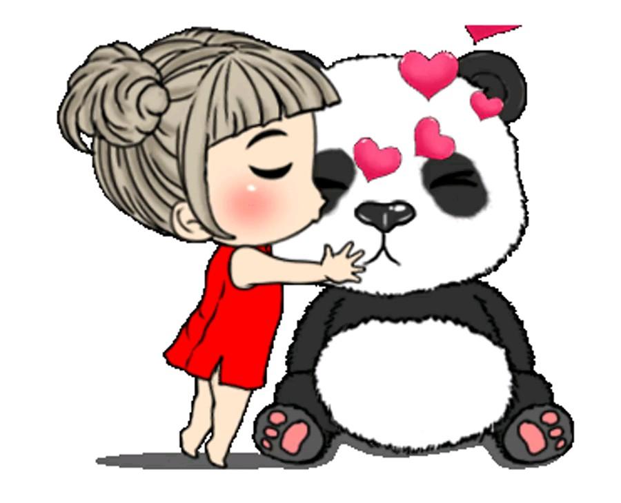Kiss sticker love whatsapp