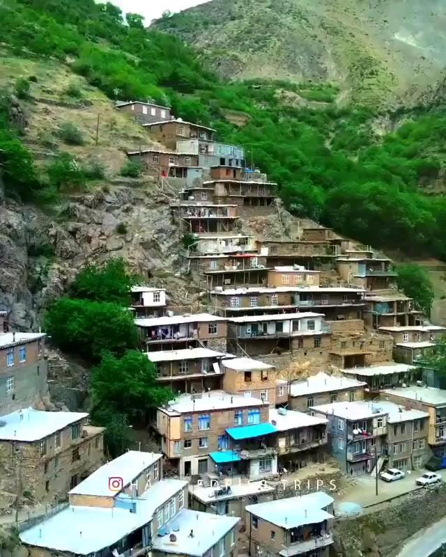 فیلم روستای تنگی سر کردستان